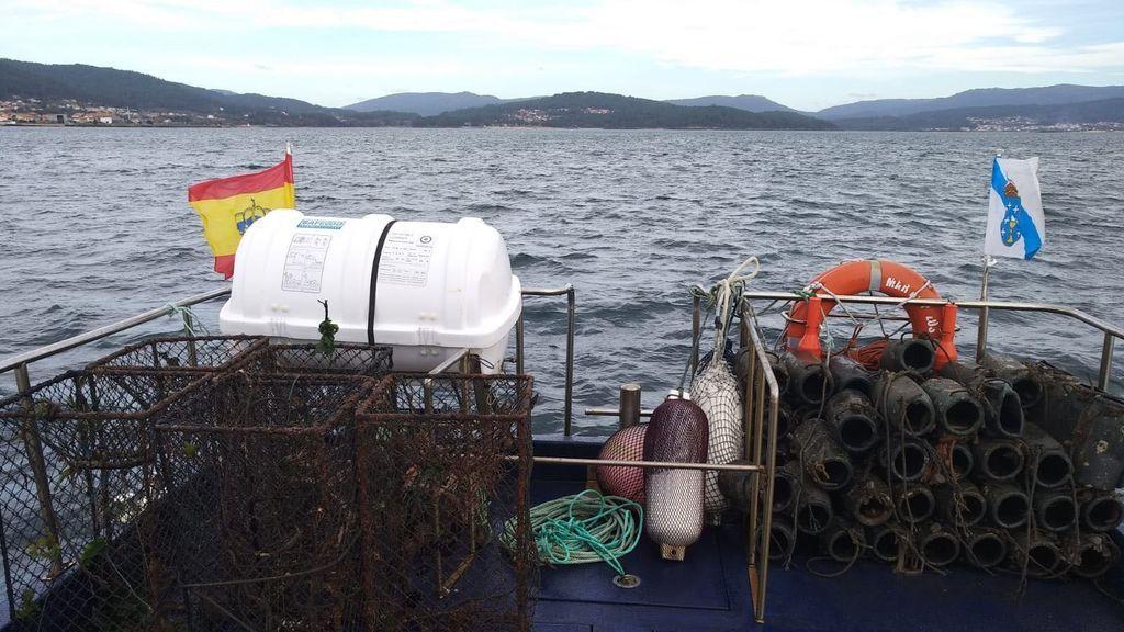 Golpe a la pesca furtiva en Galicia: requisados 2.000 kilos de pescado y marisco ilegal