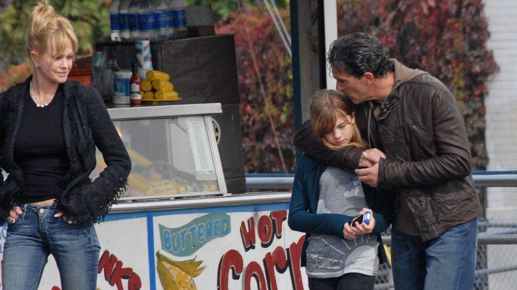 Antonio Banderas, Melanie y su hija