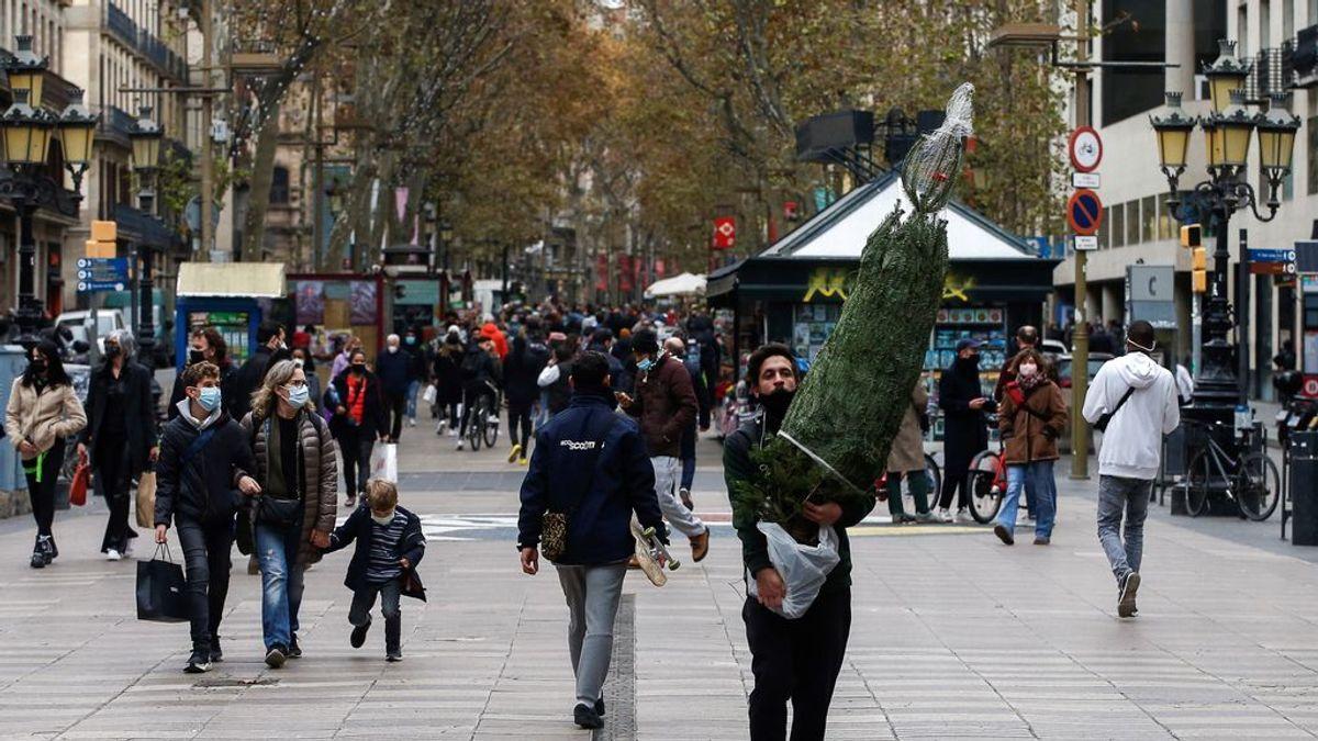 Última hora del coronavirus: Cataluña logra bajar la velocidad de contagio pero suma 41 nuevos fallecimientos