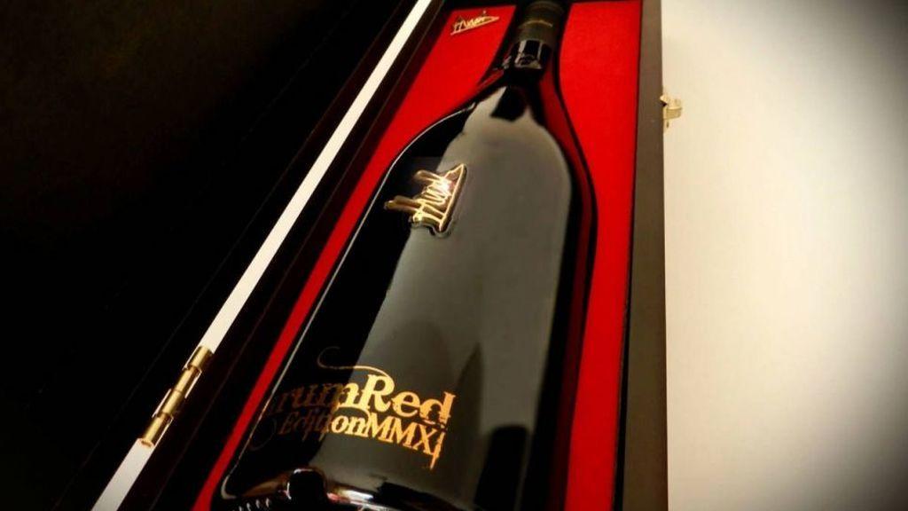 Aurum Red, el vino más caro del mundo es español.
