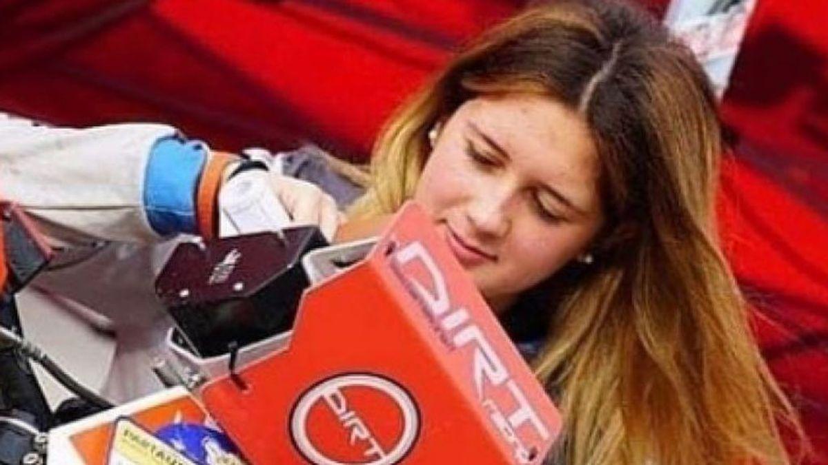 Muere la joven piloto Sara Lenzi, a los 18 años, tras chocar contra un todoterreno en una prueba en Cerdeña