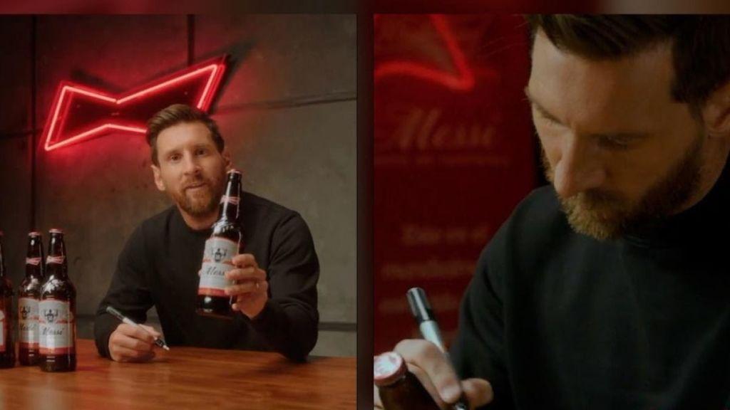Comienza la cuenta atrás, ya puedes conseguir la botella de Budweiser Edición Especial firmada por Messi