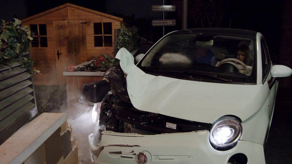 El accidente de coche de Carlota