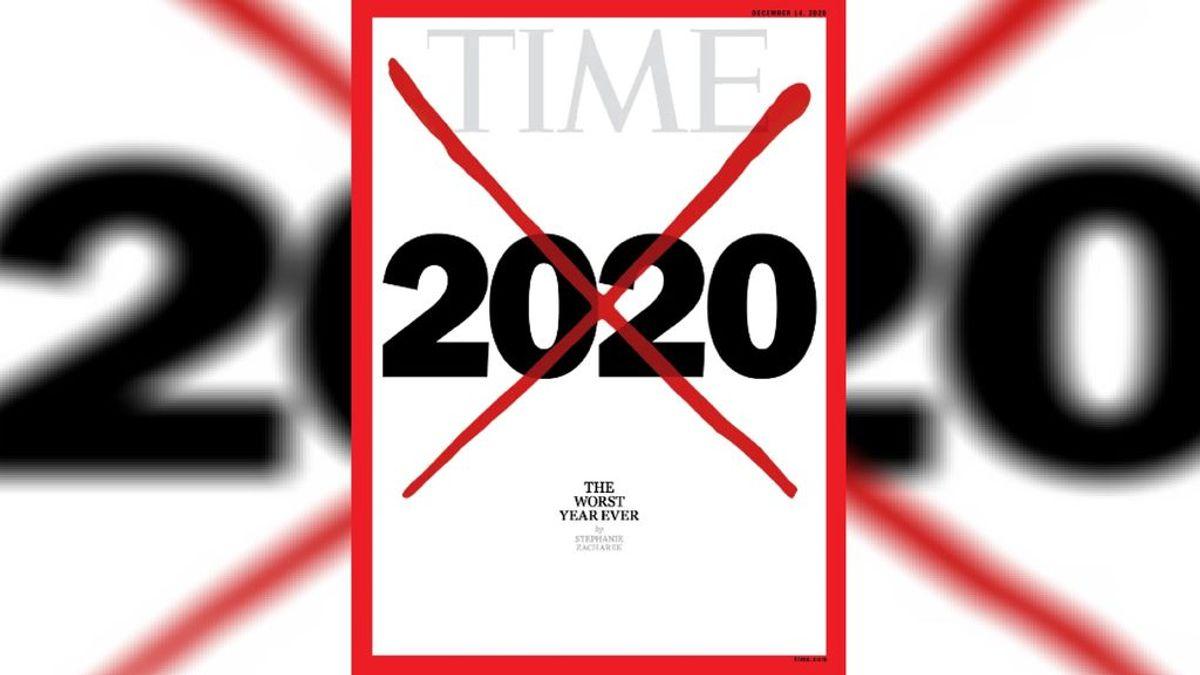 """La revista 'Time' dedica su última portada al 2020: """"El peor año de todos los tiempos"""""""