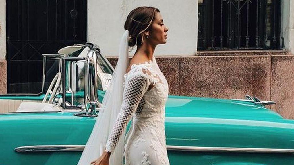 Elena Tablada nos cuela en su boda cubana con Javier Ungría, padre de su segunda hija