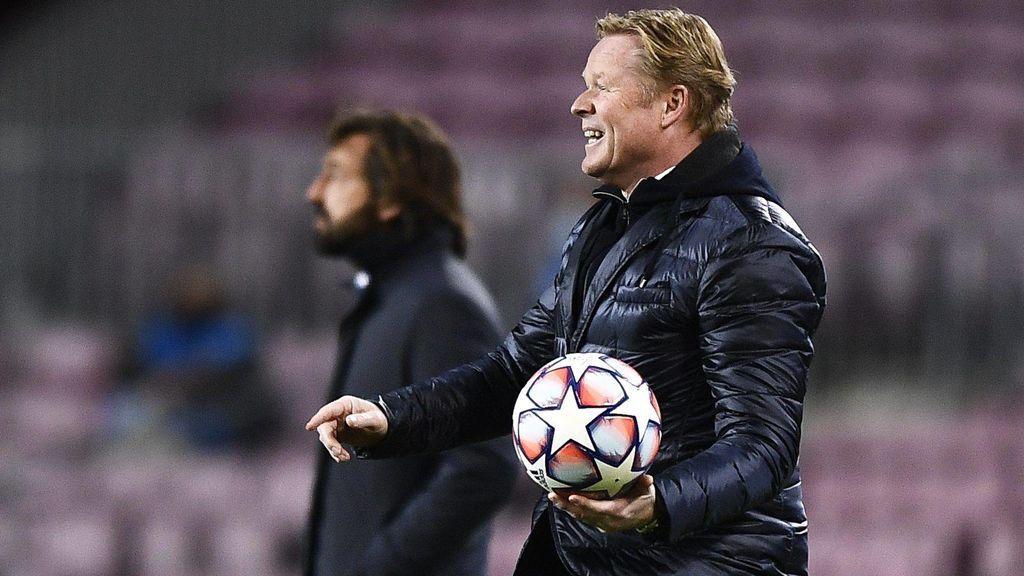Koeman atacó a los árbitros tras la derrota ante la Juventus.