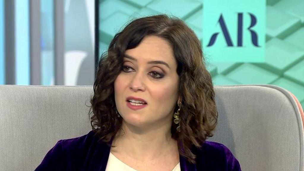 Díaz Ayuso habla sobre el Plan de Vacunación del coronavirus