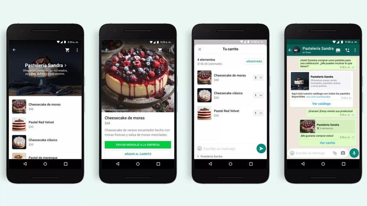 WhatsApp introduce un carrito de la compra para adquirir nuevos productos desde la aplicación