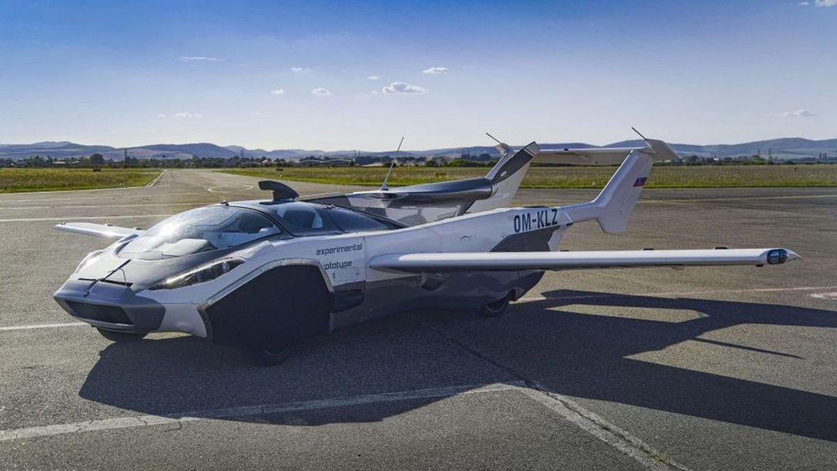 AirCar: el primer coche volador capaz de surcar los cielos