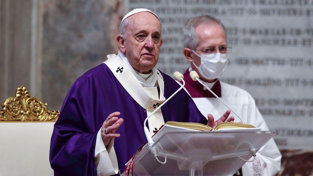 Papa Francisco en misa