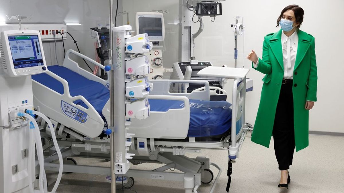 Madrid multiplica los nuevos contagios por cuatro mientras bajan las muertes