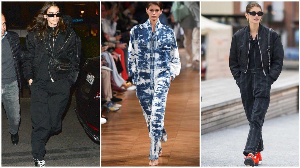 La hija de Cindy Crawford también es gran fan de los boiler suits.