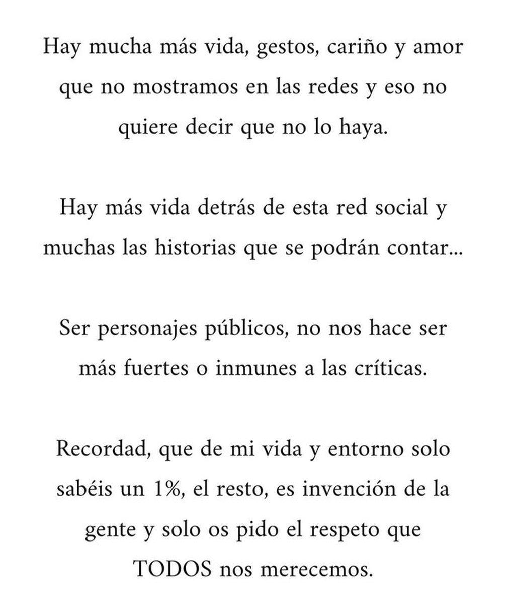 Comunicado Marta Pombo