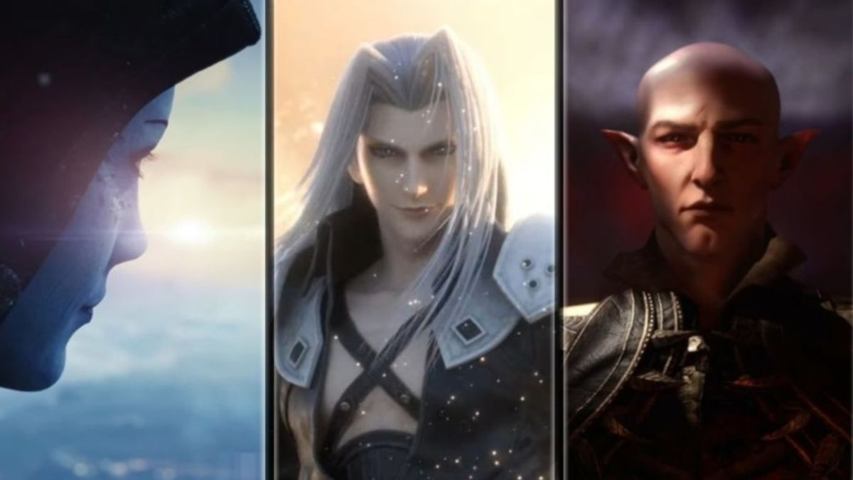 Mass Effect, Sephiroth en Super Smash y Dragon Age