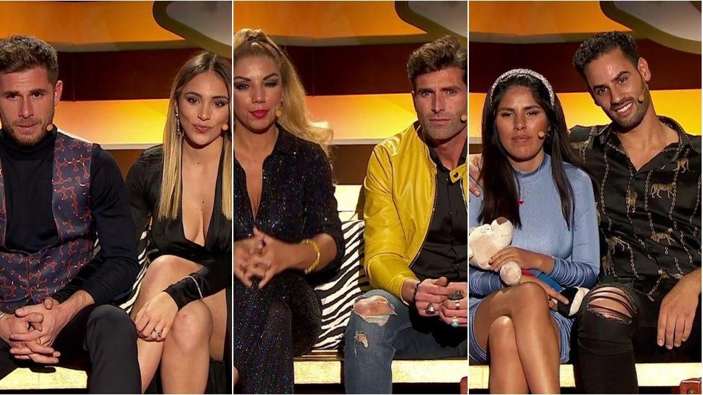 Tom y Sandra, Rebeca y Efrén e Isa y Asraf, nuevas parejas nominadas de 'La casa fuerte 2'
