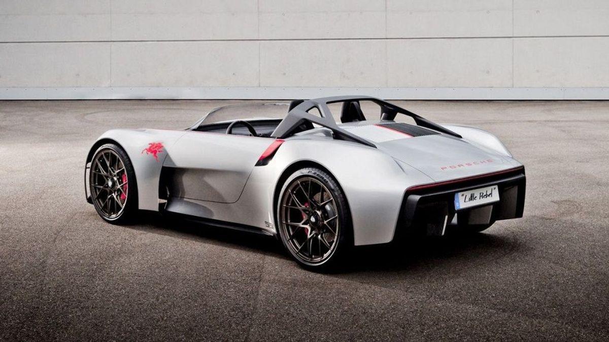 Homenaje a James Dean: Porsche revive el 550 Spyder 'Little Rebel'