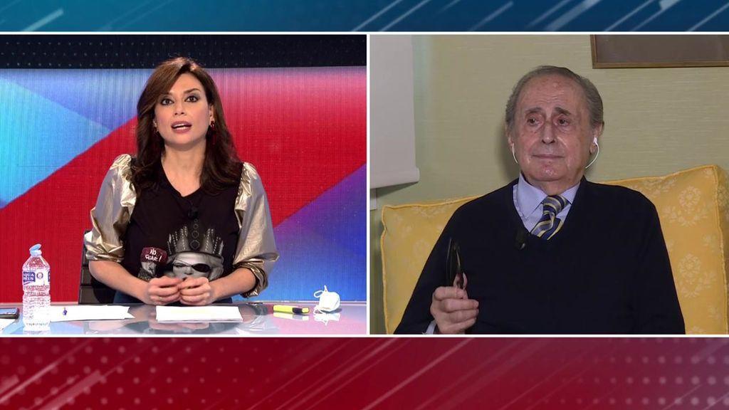 """Jaime Peñafiel carga contra Pablo Iglesias por su vídeo contra la Monarquía: """"Es un  sinvergüenza"""""""