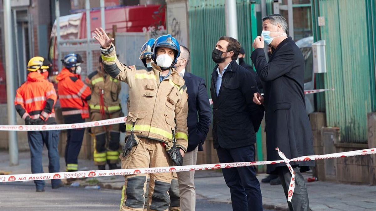 """Mansur, okupa del edificio incendiado en Badalona: """"Parece que no haya humanos en este mundo"""""""