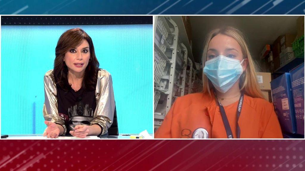 """Carmen, enfermera obligada a trasladarse al Hospital Isabel Zendal: """"Si lo rechazo, me penalizan durante un año"""""""