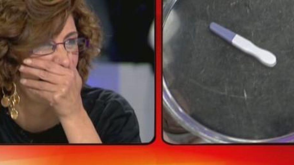 De Paqui 'La coles' a Sandra Pica: todas los test de embarazo 'made in' los platós de Mediaset