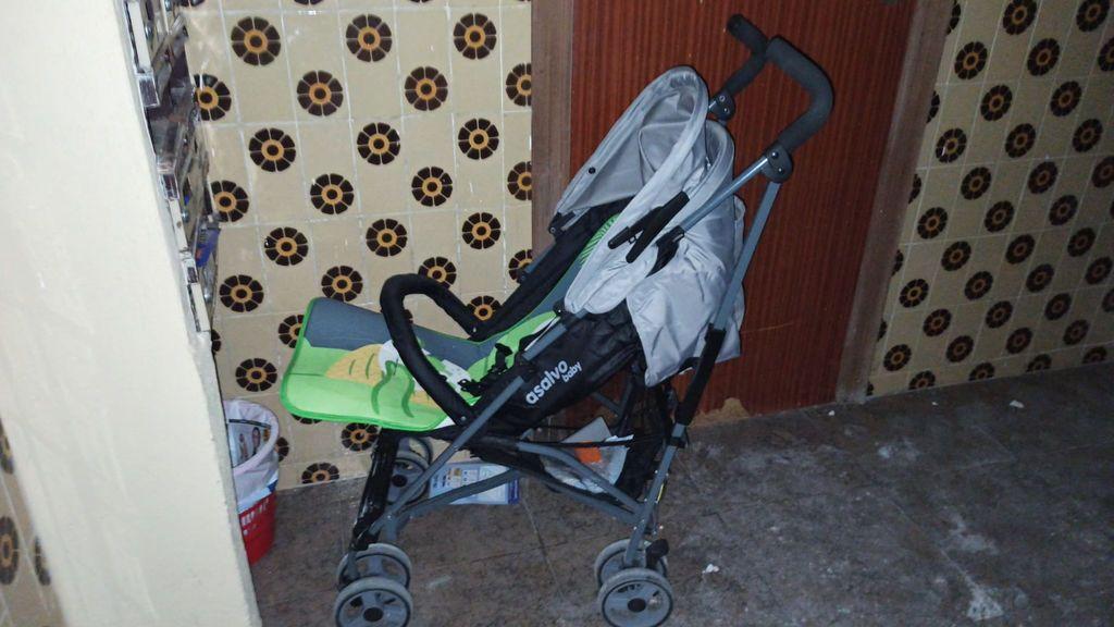 carrito bebe incendio