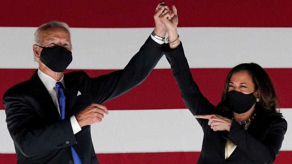 Biden y Harris, personas del año 2020 para la revista 'Time'