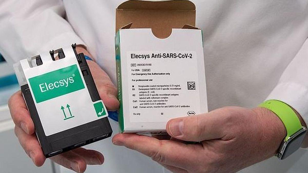 Roche lanza Elecsys ,  su test rápido de covid-19 con una eficacia del 94,5 %
