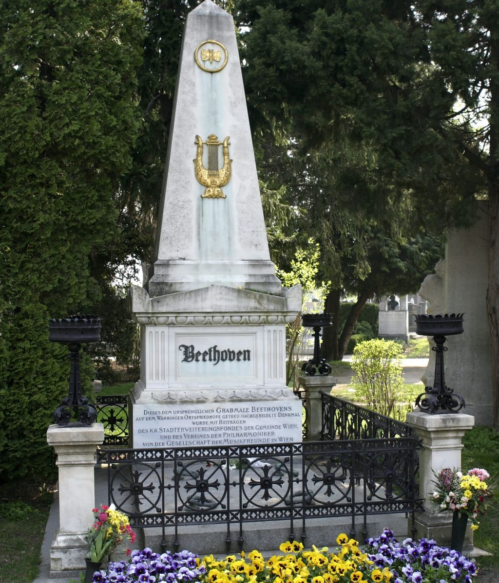 Beethoven cementerio