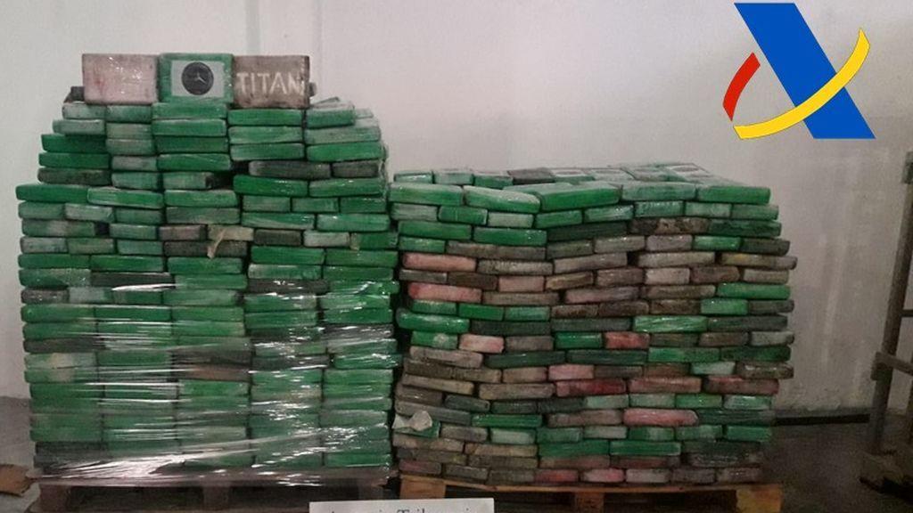 1.600 kilos de cocaína incautados en Algeciras: la droga viajaba en un cargamento de plátanos