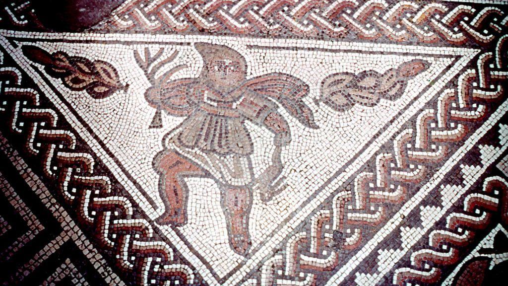 Un mosaico romano del Reino Unido da un vuelco a la historia conocida hasta ahora
