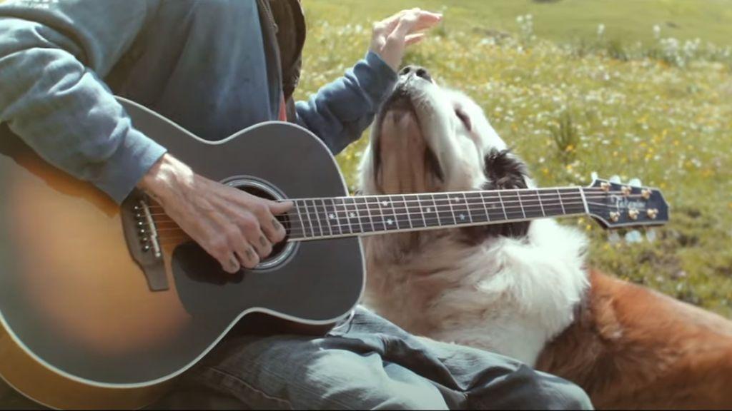 Pau Donés con su perro Fideos