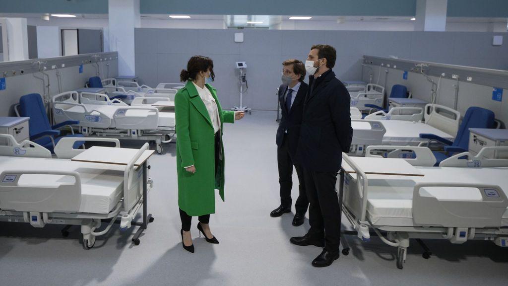 Las pruebas radiológicas nocturnas del Zendal se interpretarán de forma remota desde el Hospital de La Paz