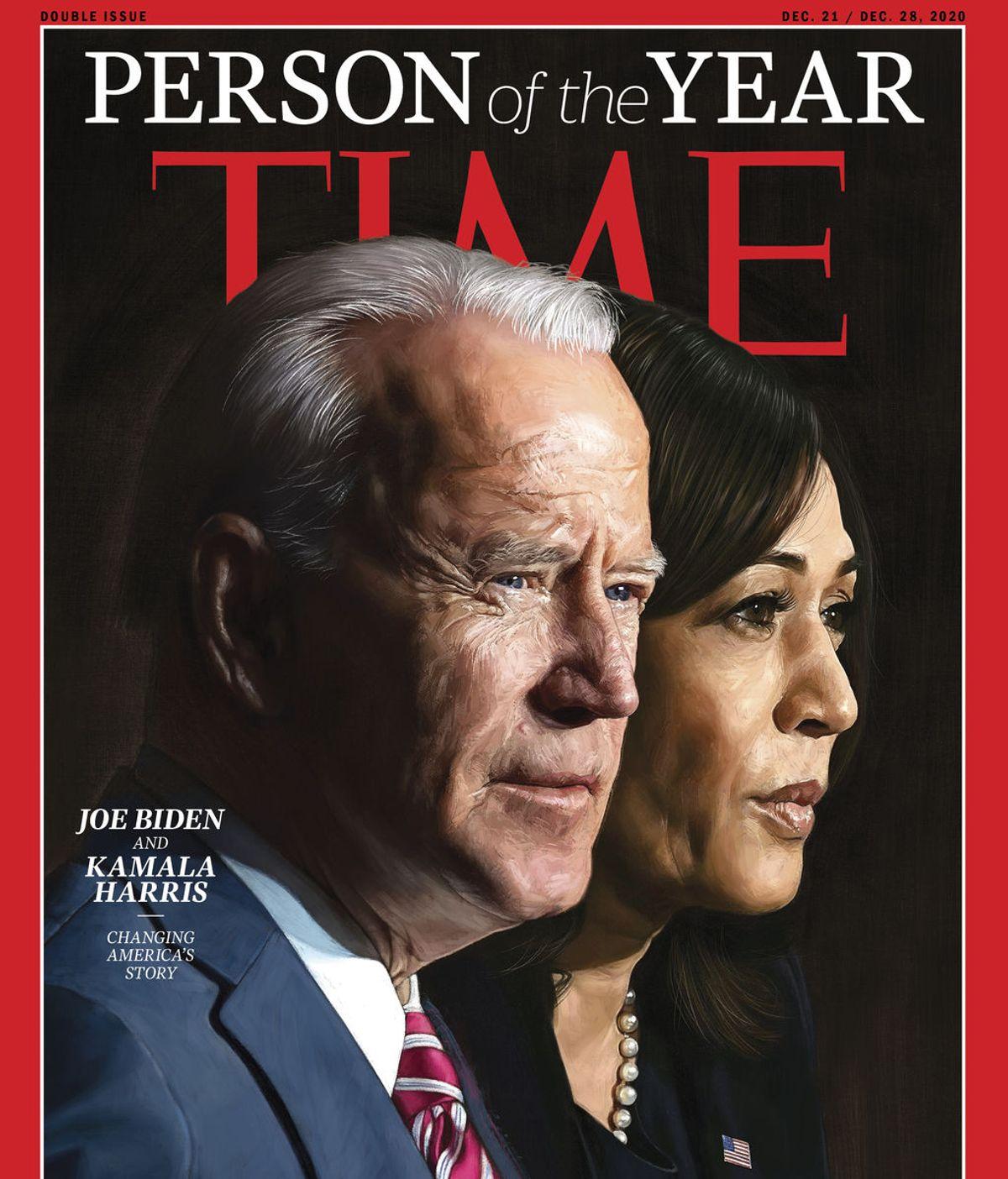'Time' declara personas del año a Joe Biden y Kamala Harris