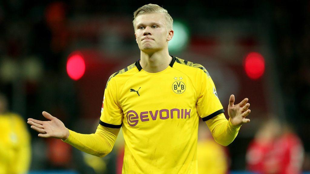 """El Dortmund ya empieza a plantearse la venta de Haaland: """"A Erling le encantan los desafíos"""""""