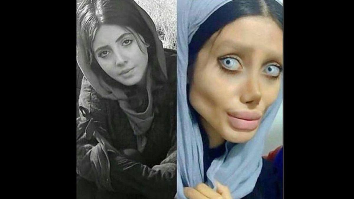 """Condenan a diez años de prisión a la conocida como 'Angelina Jolie' iraní: acusada de """"corromper a los jóvenes"""""""