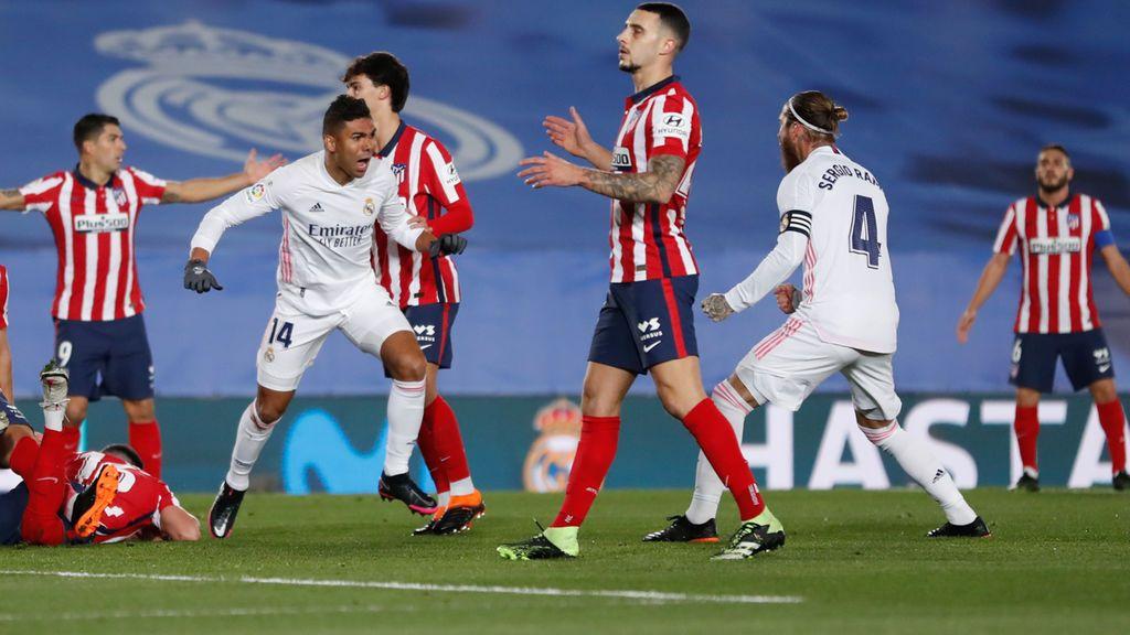 El Real Madrid da un golpe encima de la mesa y se lleva el derbi ante el Atlético de Madrid (2-0)