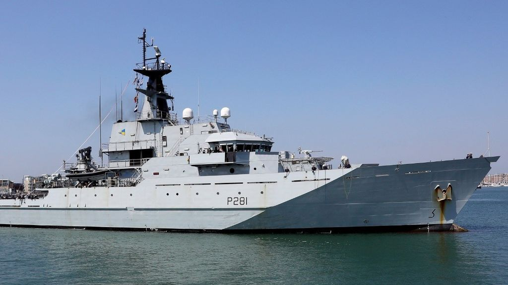 La Marina Real británica protegerá las aguas pesqueras del Reino Unido si no hay acuerdo del Brexit