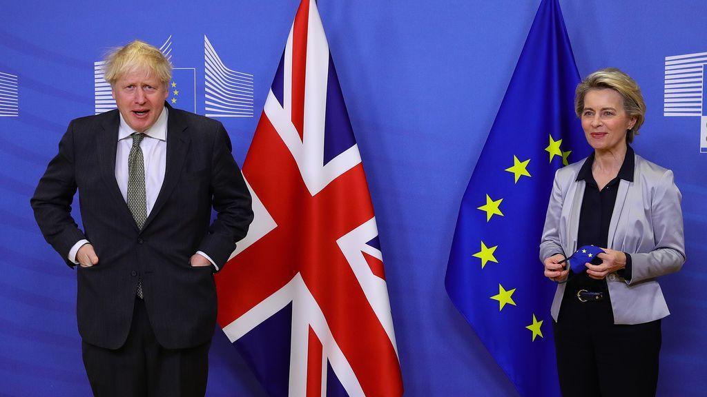 Johnson y Von der Leyen, ante un día decisivo para desbloquear las negociaciones del Brexit
