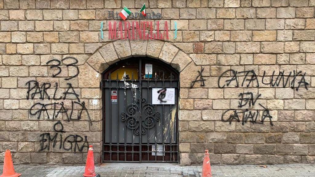 """Acoso a un restaurante italiano por no hablar en catalán: """"Hacemos comida, no política"""""""