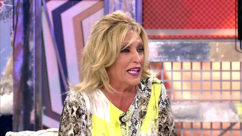 Lydia Lozano se parte de risa al escuchar la noticia de Carlos Lozano