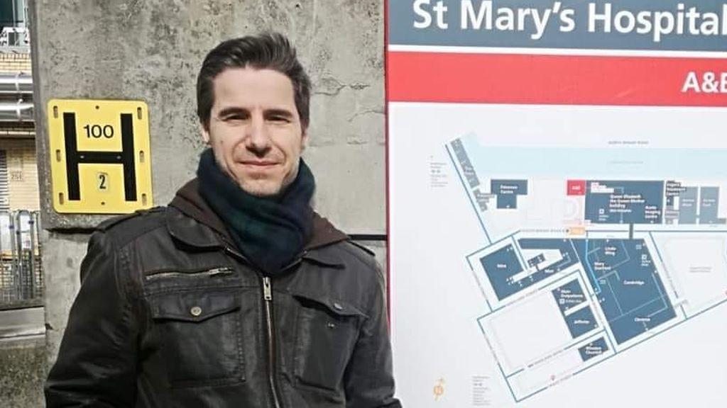 Massimo Colombi, el enfermero que ha fallecido