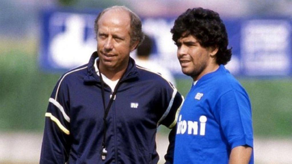 """Ottavio Bianchi, entrenador de Maradona en el Nápoles, habla sobre su etapa en Italia: """"No quería entrenar por las mañanas porque se quedaba hasta altas horas"""""""
