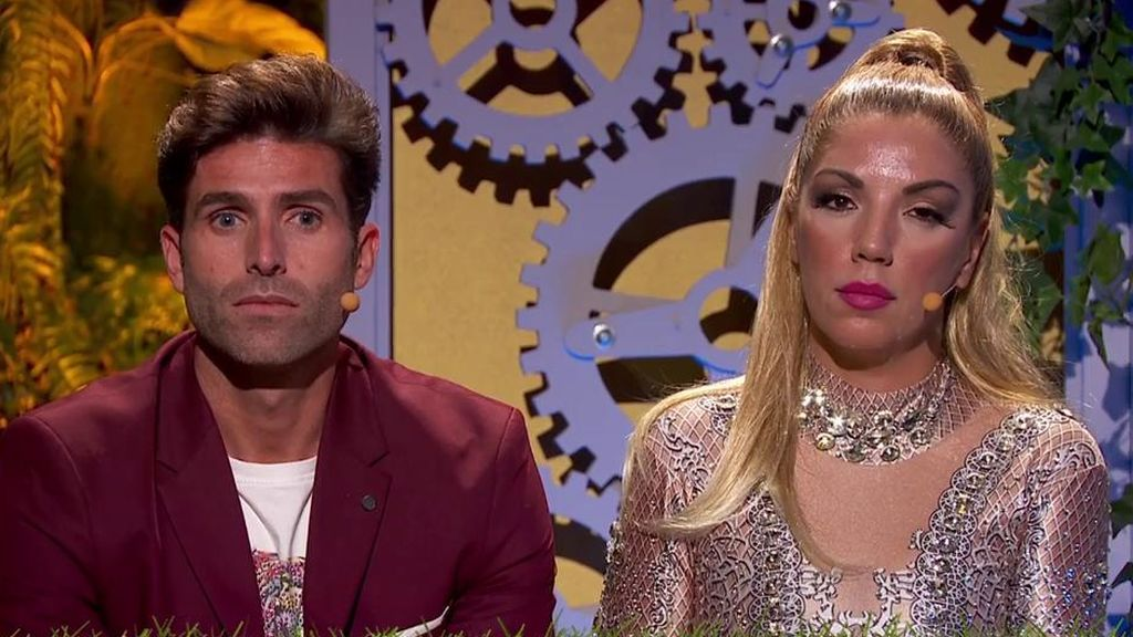 Efren Reyero y Rebeca son los nuevos expulsados de 'La casa fuerte 2': no logran ganar en el televoto a Sandra y Tom e Isa y Asraf