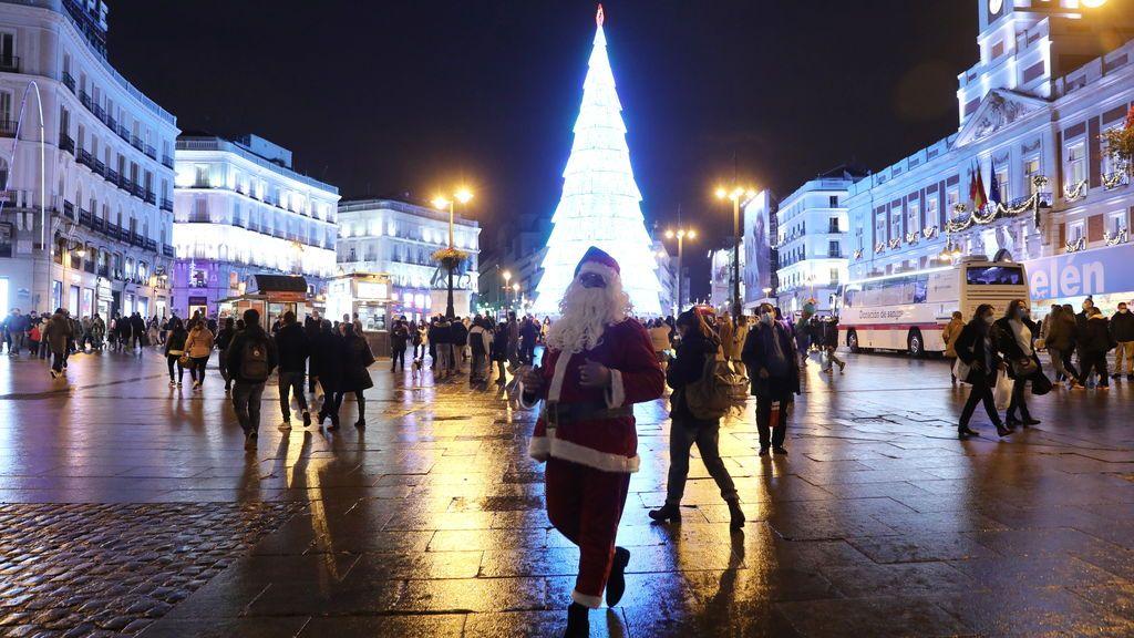 La incidencia de Baleares, Madrid y Cataluña repunta a 10 días de Nochebuena