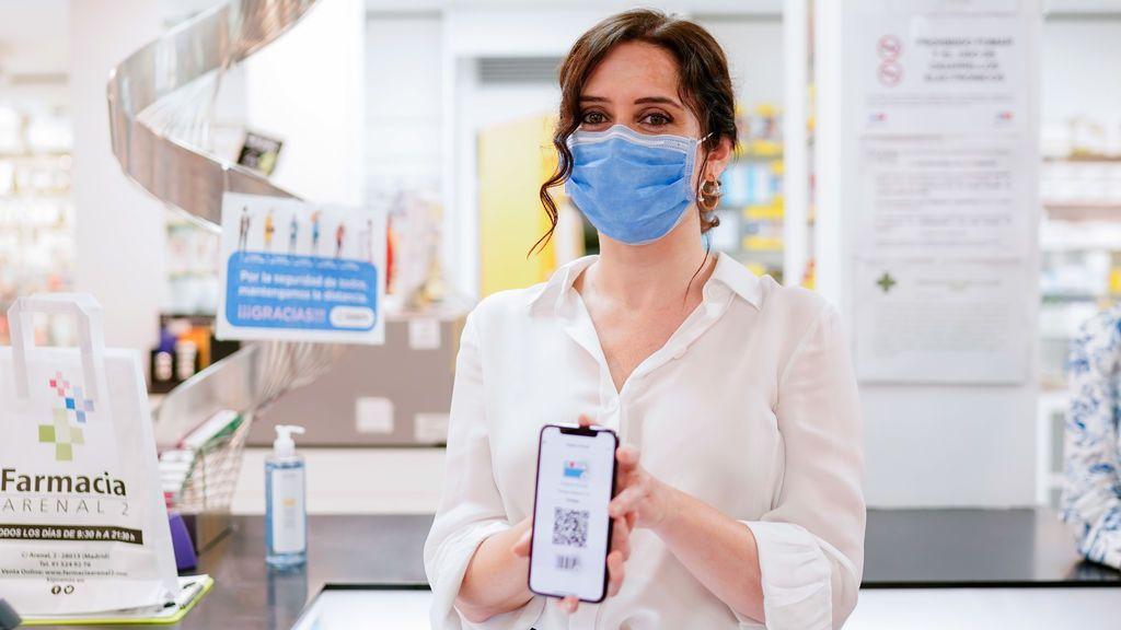 La tarjeta sanitaria virtual de Madrid incluye desde hoy los test covid