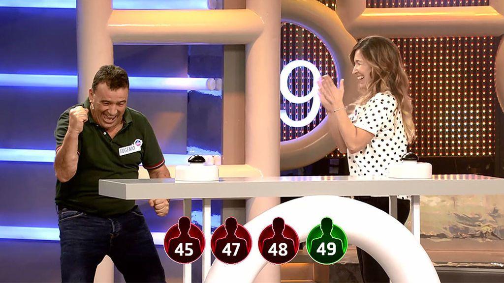 ¡Gol en el último minuto! Rocío y Eugenio se llevan 2.500€ para Castellón