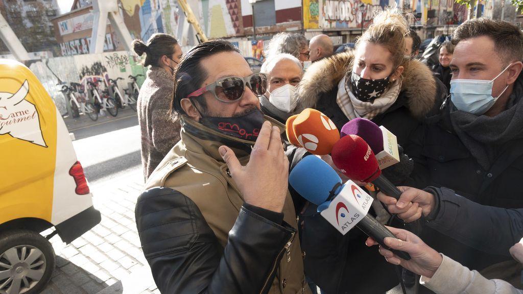 Rafael Amargo denuncia la desaparición de objetos personales tras el registro policial