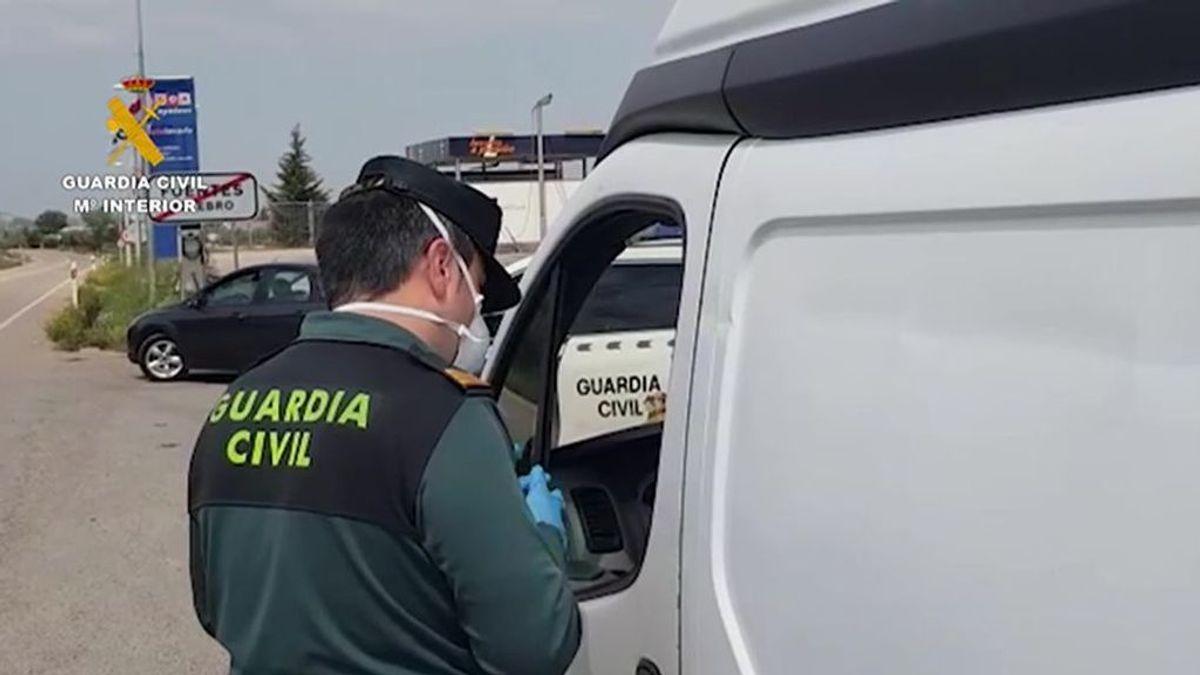 Investigan al padre de un niño de 9 años que conducía una furgoneta en Ourense