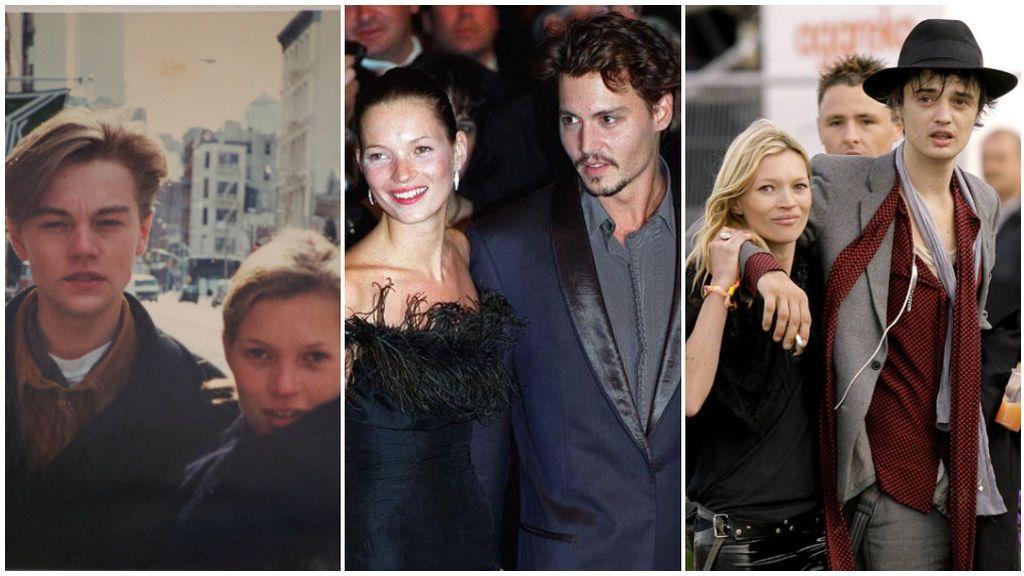 Leonardo di Caprio, Johnny Depp y Pete Doherty: el escandaloso y controvertido historial amoroso de Kate Moss.