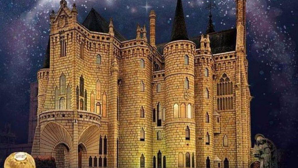 Astorga, elegido mejor pueblo anfitrión de España para la campaña de iluminación de Ferrero Rocher